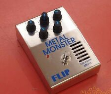 GUYATONE FLIP MM-X METAL MONSTER Distortion Effects Pedal Free Ship From Japan