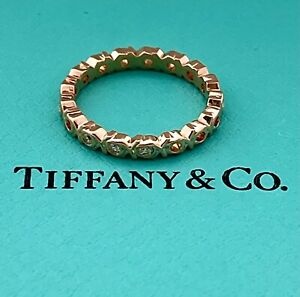 AUTHENTIC TIFFANY & CO PALOMA PICASSO DIAMOND RING, 18K, APPR. RETAIL USD $1,600
