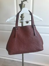 a856bac9a5bd Bottega Veneta Intrecciato Nappa Large Cesta Bag  Brown