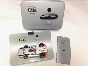 SLOT CAR SCX VINTAGE SIGMA GP F1 Limited Edition