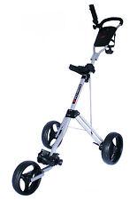 Founders Trike 3 Wheel Golf Push Cart Trolley - Silver