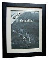 BLUR+Country House+POSTER+AD+RARE ORIGINAL 1995+QUALITY FRAMED+FAST GLOBAL SHIP