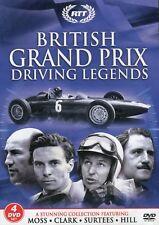 BRITISH GRAND PRIX DRIVING LEGENDS COLLECTION MOSS HILL CLARK SURTEES DVD SET F1