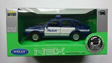 WELLY POLONEZ CARO PLUS POLICE 1:34 POLISH CLASSICS DIE CAST METAL MODEL NEW BOX