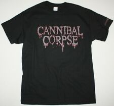 CANNIBAL CORPSE LOGO DEATH METAL GRINDCORE NAPALM DEATH NEW BLACK T-SHIRT