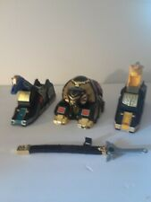 Lion, Griffin and Unicorn THUNDERZORDS. Sword included