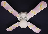New TINKERBELL PRINCESS FAIRY PURPLE Ceiling Fan 42""