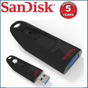 USB Flash Drive SanDisk Ultra CZ48 32GB 64GB 128G 16G 256G Memory Stick  USB 3.0