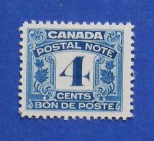 1932 4c CANADA POSTAL NOTE SCRIP REVENUE VD # FPS6 B # 7 UNUSED          CS15747