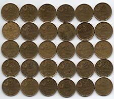 LOT DE 30 Pièces de 50 francs GUIRAUD 1953B