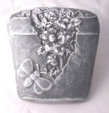 Bee planter plaque mold plaster cement garden casting wall pot decor mould