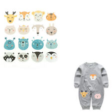 Jungle animals Iron On Patches Washable Heat Transfer Sticker Clothes AppliqueJR