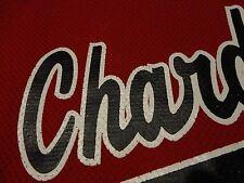 CHARDON High School Town SOFTBALL Baseball Red Team Jersey FREE Shipping Large