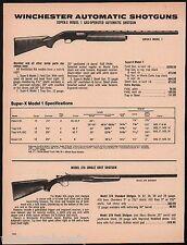 1979 WINCHESTER Super-X Model 1 Automatic & 37A Single Shot SHOTGUN AD