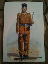 Military Postcard Rifleman Royal Gurkha Rifles by Alix Baker