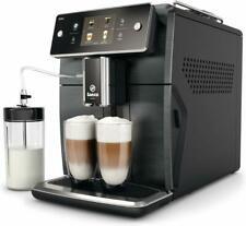 Saeco Xelsis SM7684/04 Super Automatic Espresso Machine - Titanium Metal Front
