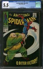 Amazing Spider-Man #60 CGC 5.5 (OW-W) Kingpin appearance