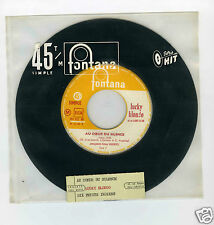 45 RPM SP JUKE BOX LUCKY BLONDO AU COEUR DU SILENCE