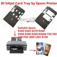 PVC ID Card Tray Plastic card Printing Tray for Epson T50 P50 L800 R260 R265 etc