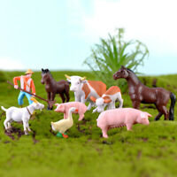 Miniature Animals Figurines DIY Terrarium Ornament For Miniature Garden Decor