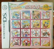 520 IN 1 Games Card  For Nintendo DS 3DS 2DS R4 Cartridge Multicart