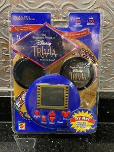 WORKING NIP 2001 MATTEL DISNEY TRIVIA ELECTRONIC HANDHELD GAME #42741
