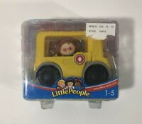 """Fisher Price Little People """"School Bus and Maggie"""" NEW"""