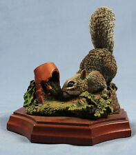 Eichhörnchen figur porzellanfigur Bossons tierfigur perfekt