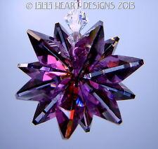 m/w Swarovski Crystal New Color LILAC SHADOW Star SunCatcher Lilli Heart Designs