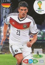 N°117 MARIO GOMEZ # DEUTSCHLAND PANINI CARD ADRENALYN WORLD CUP BRAZIL 2014