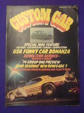 CUSTOM CAR - DEMOLITION DERBIES - February 1974