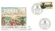 Germany 1985 FDC 1234 Augsburg