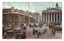 Bank Of England - London Photo Postcard 1907