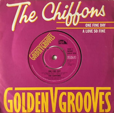 "THE CHIFFONS ‎- One Fine Day/A Love So Fine (7"") (VG/VG)"