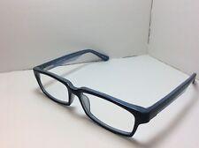 f7ed6cfd3a6 Modern Eyeglasses FRAMES Limit Navy Light Blue 52  16 145