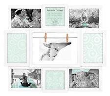 Maggiore Weiß Bilderrahmen für 9 Fotos Bilder Gallery Galerie Photo Collage