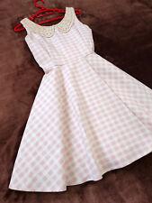 LIZ LISA Dress Japan-M Gingham check Ribbon bow Hime&Lolita Romantic 109fashion