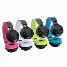 Wireless Bluetooth Headset  Headphones MP3 Player and LED Lights Support TF Card