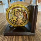 Vintage Old World Zona Fredda Merid Globe With Wooden Stand 5 25  Tall