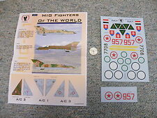 Eagle Strike decals 1/32 32032 MIG Fighters of World Part 1   N73