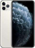 Apple iPhone 11 Pro Max 256GB Silver 🍎 Verizon T-Mobile ATT Unlocked Smartphone