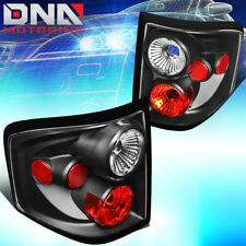 FOR 2004-2008 FORD F150 FLARESIDE ALTEZZA STYLE TAIL LIGHT BRAKE LAMP BLACK/RED