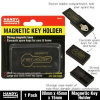 1x Magnetic Key Case Holder Holders Extra Spare Storage Hider Hide Container Box