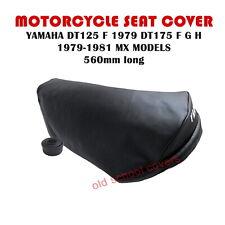 141b807621b Yamaha DT125 F 1979 DT175 F G H 1979-1981 MX Modelos Funda Asiento y Correa  Seat
