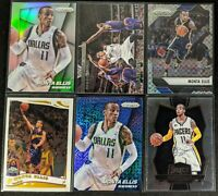 Lot of (6) Monta Ellis, Including Prizm silver, Topps Chrome RC & other prizms
