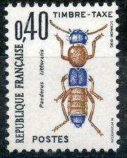 STAMP / TIMBRE DE FRANCE TAXE N° 110 ** INSECTES / COLEOPTERES