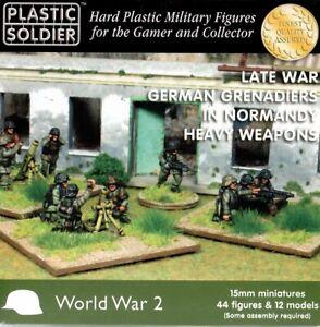 Plastic Soldier Company 15mm German Late War Grenadiers Heavy Weapons WW2015012