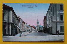Tschechien CZ AK Falkenau a d Eger 1910-25 Sokolov Ringplatz Straße Geschäfte ++
