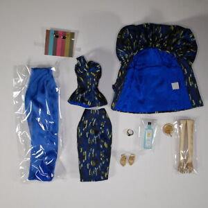 Integrity Fashion Royalty East 59th Blue Gold Victoire Roux Outfit Accessories
