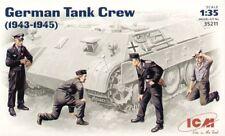 Icm German Tank Crew 1943/45 Scala 1 35 Cod.35211